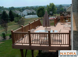 second story decks by back to nature www btndecks com 215 885