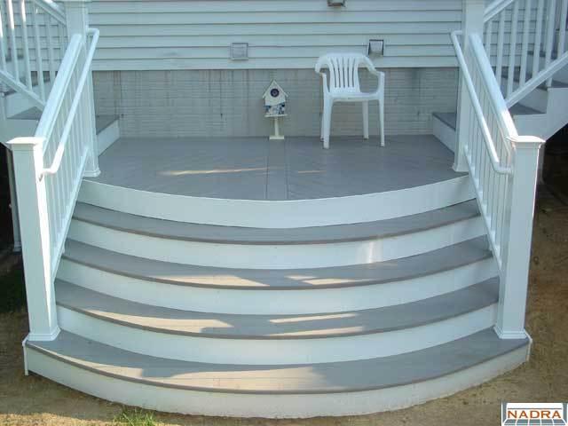Curved Steps, Grand Entrance