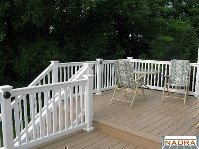 composite deck timber tech composite deck. Black Bedroom Furniture Sets. Home Design Ideas