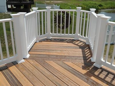 Composite deck top rated composite deck for Composite decking brands
